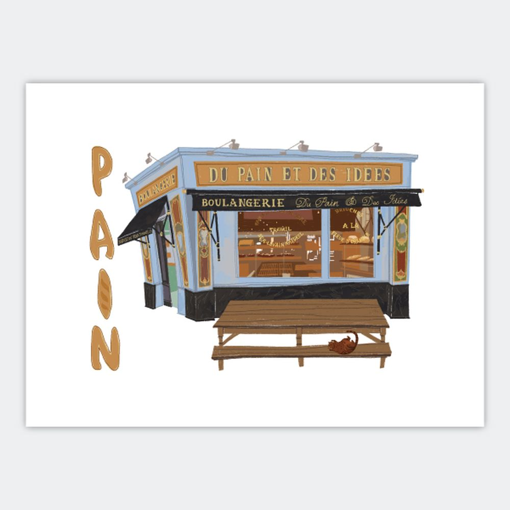 時刻創意|巴黎店鋪-系列04 Pain
