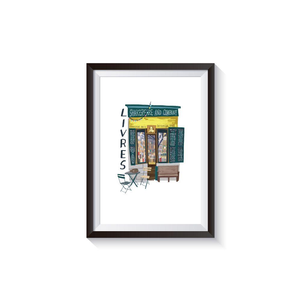 時刻創意 巴黎店鋪-系列03 Livres