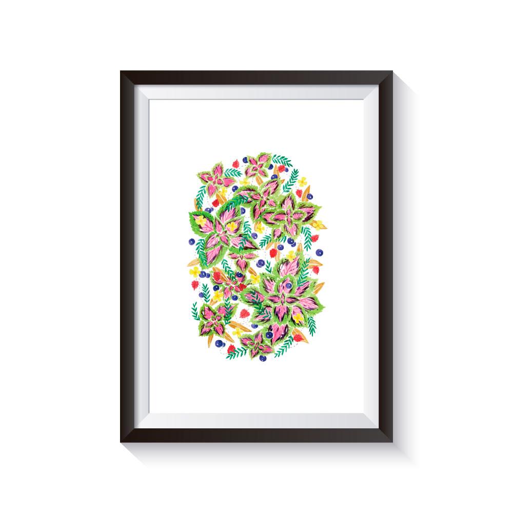 時刻創意|HANA系列-彩葉