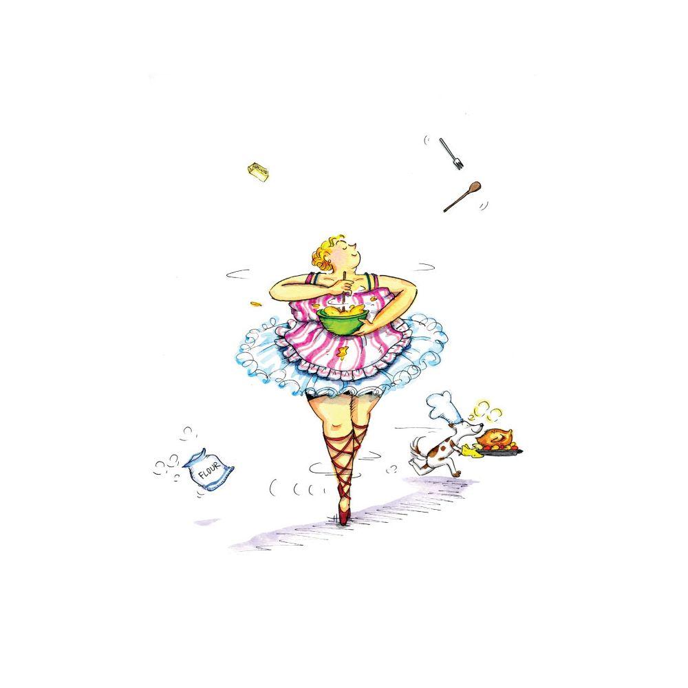 時刻創意|胖胖芭蕾舞孃-系列02