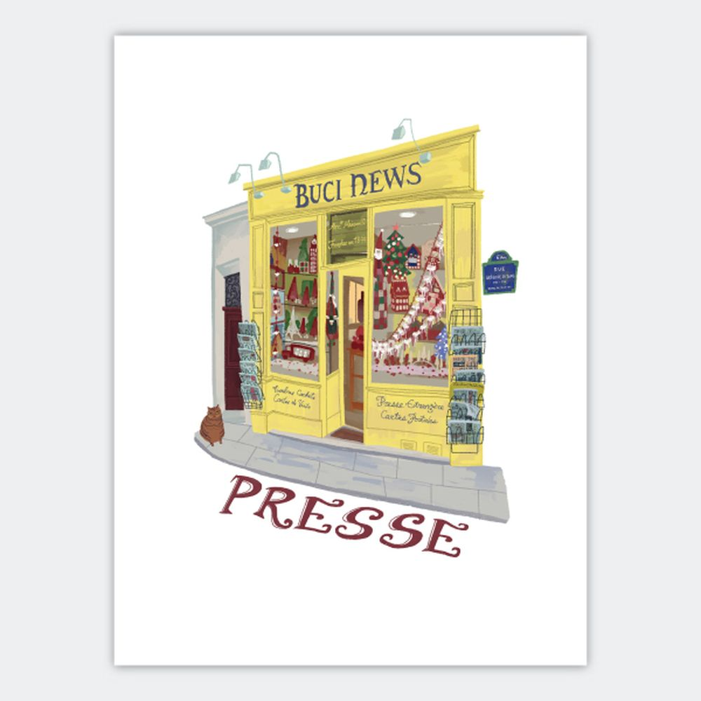 時刻創意|巴黎店鋪-系列05 Presse