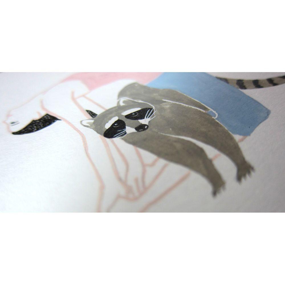 時刻創意|身態系 系列-浣熊