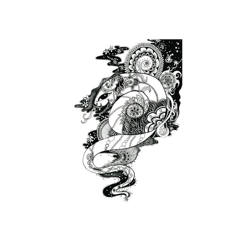 時刻創意|生肖系列-纏繞之蛇
