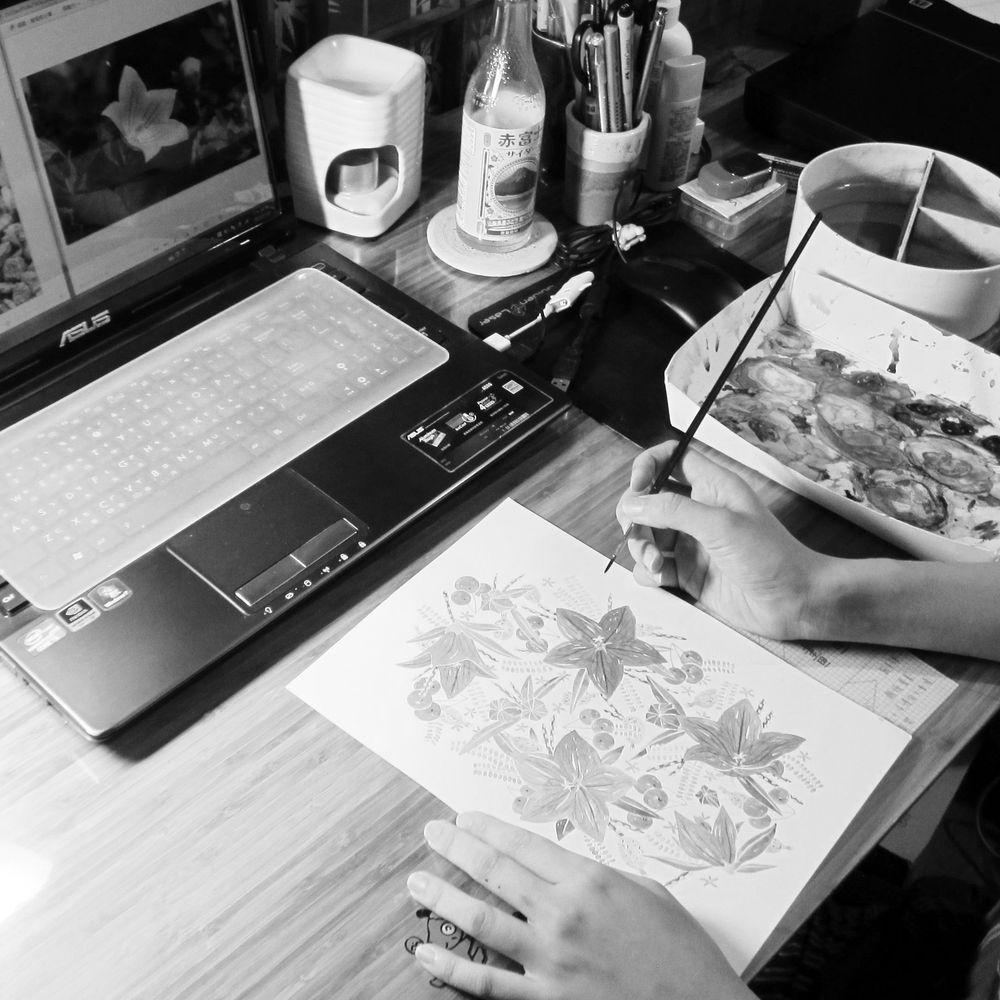 時刻創意|HANA系列-桔梗