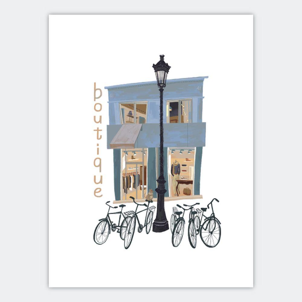 時刻創意|巴黎店鋪-系列02 Boutique