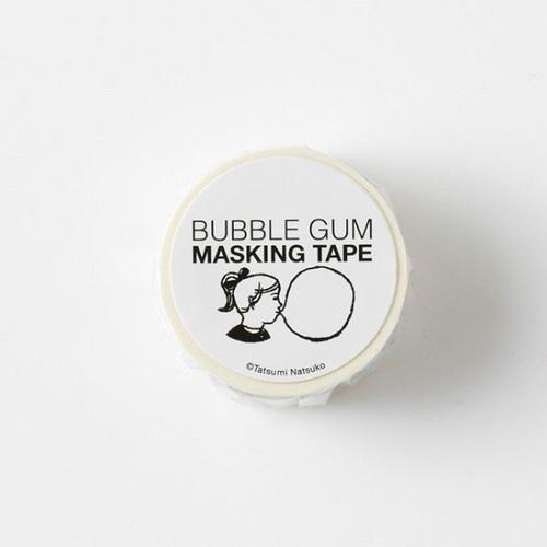 時刻創意 BUBBLE GUM泡泡糖 - 紙膠帶 白ありがとう