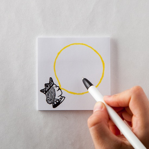 時刻創意|BUBBLE GUM泡泡糖 - 便利貼 國王の黃檸檬