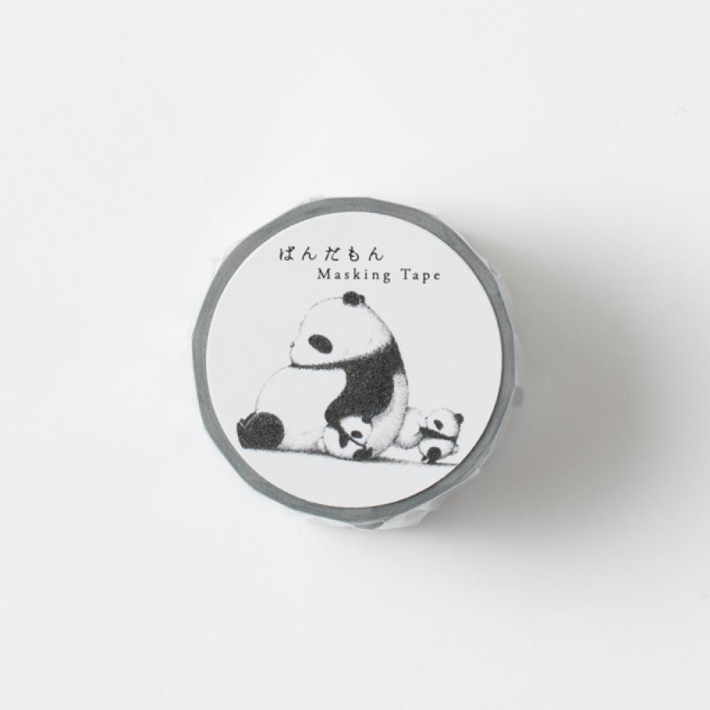 時刻創意|PANDMON 熊貓 - 紙膠帶 灰