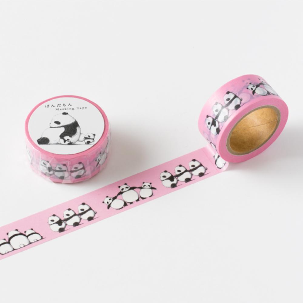 時刻創意 PANDMON 熊貓 - 紙膠帶 粉