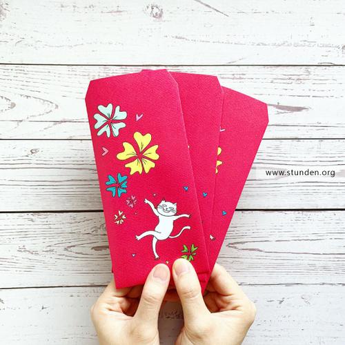 時刻創意|Jinxy系列 - 紅包袋.禮袋 - Flower