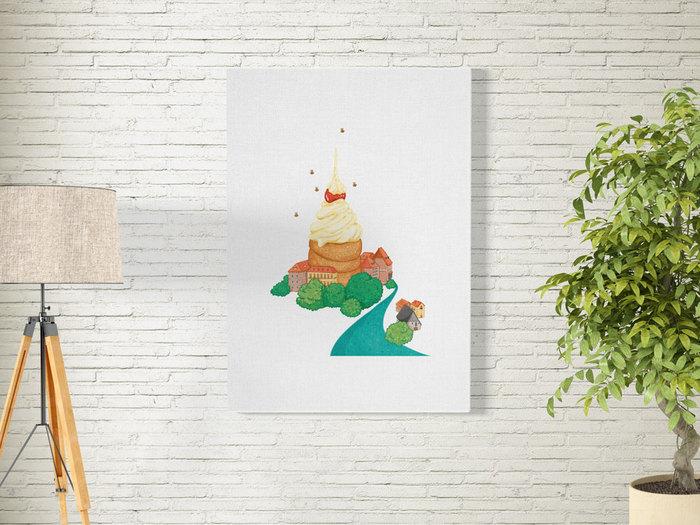 時刻創意|Delicious World 系列-捷克冰淇淋圈圈塔