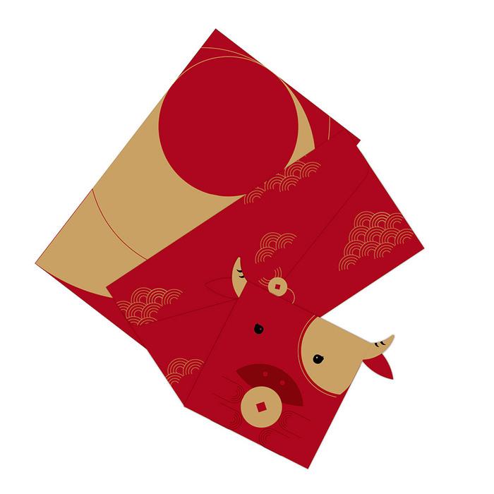 FUN ll|闔牛紅包禮袋