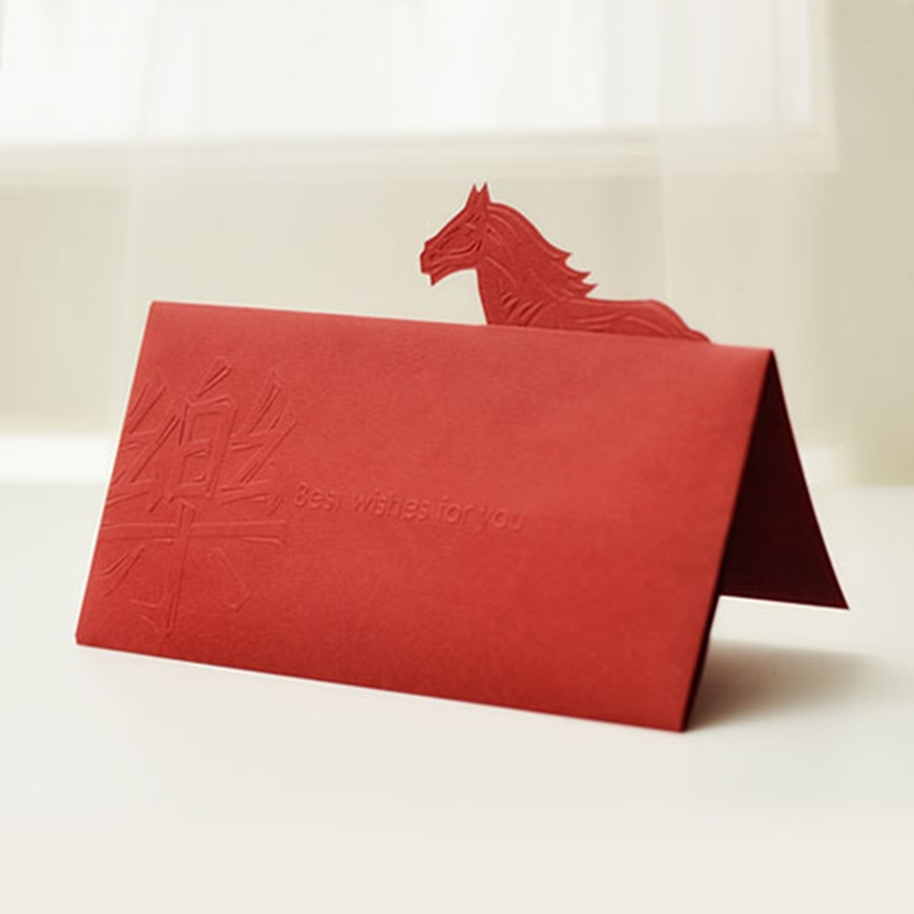 FUN ll|一馬奔騰賀卡紅包袋