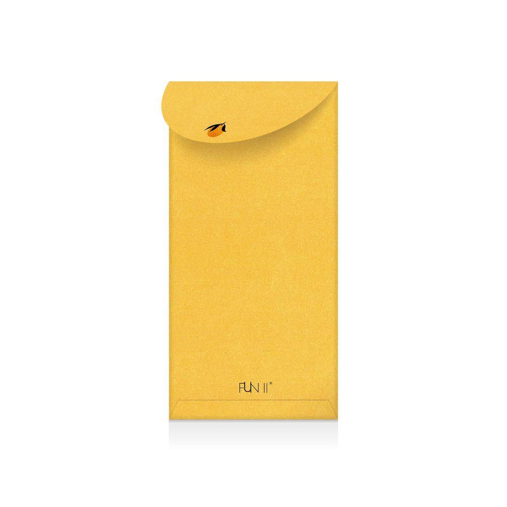 FUN ll|金厚紅包禮袋(橘子)