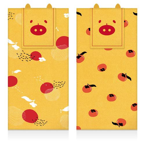FUN ll|金厚紅包禮袋(柿子)
