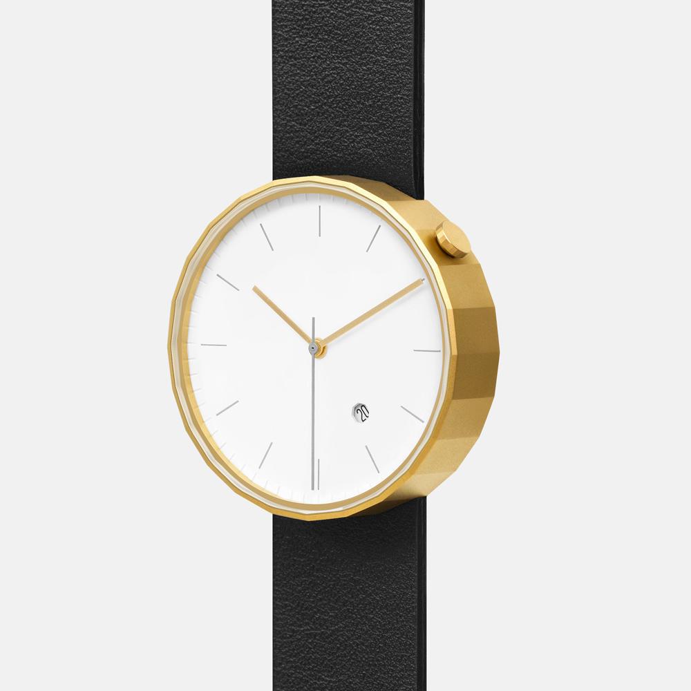 chiandchi|POLYGON-PG02 多邊手錶 (金黑)