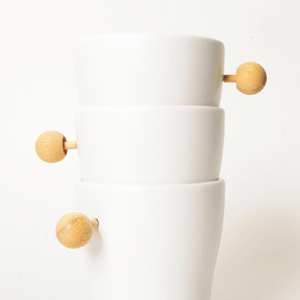 DOT design|磁扣杯(竹)