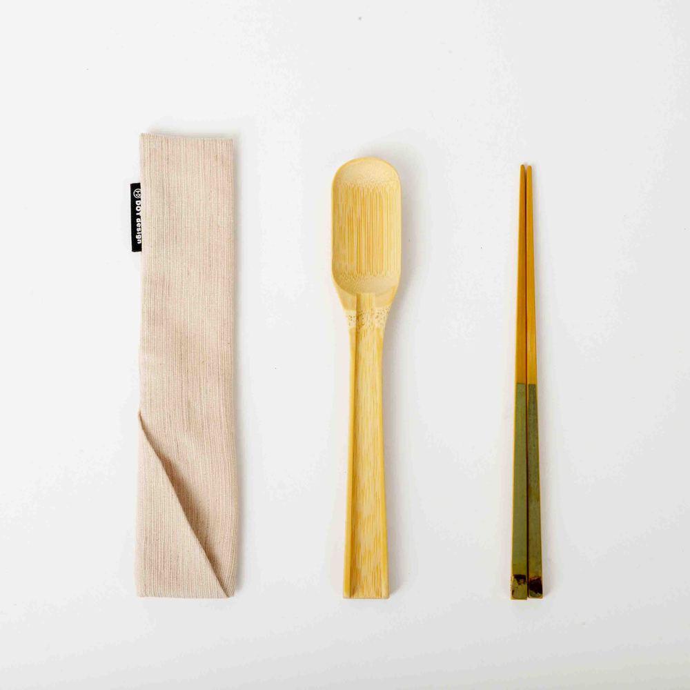 DOT design|保青竹餐具組-湯筷組合