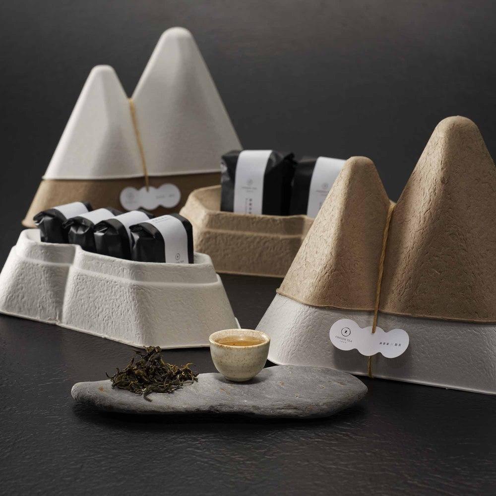 點茶1869|山型禮盒2入組(碧螺春綠茶+南投凍頂烏龍茶)