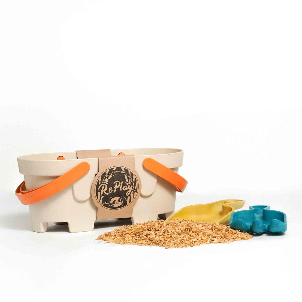 re-ing 竹纖維沙灘玩具組