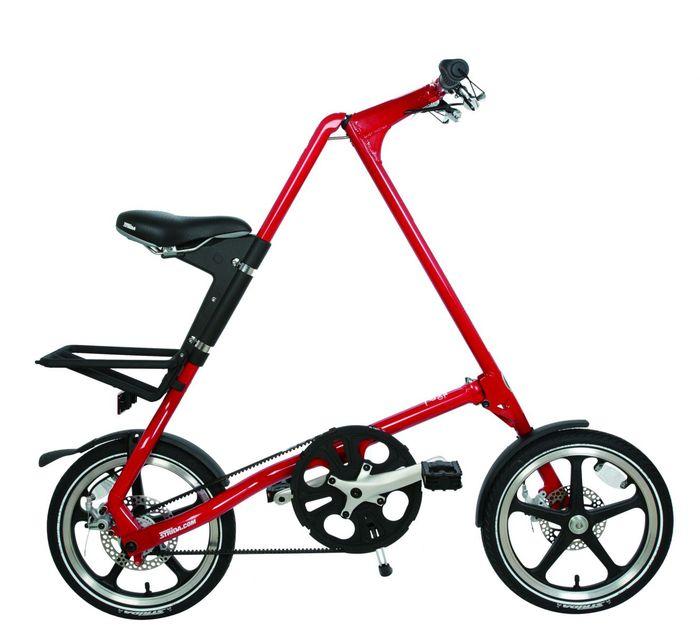 (複製)STRiDA|LT 折疊腳踏車(噴砂銀)