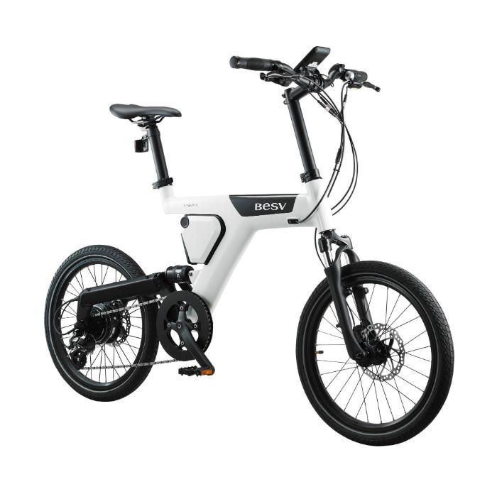 BESV|PS1智慧動能自行車(紅)