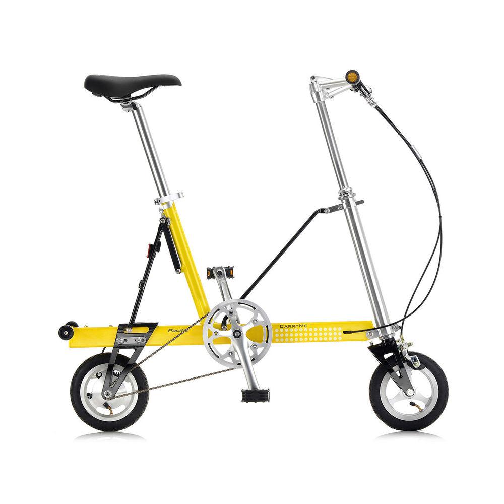 CarryMe|CarryMe SD 單速折疊車(黃色)