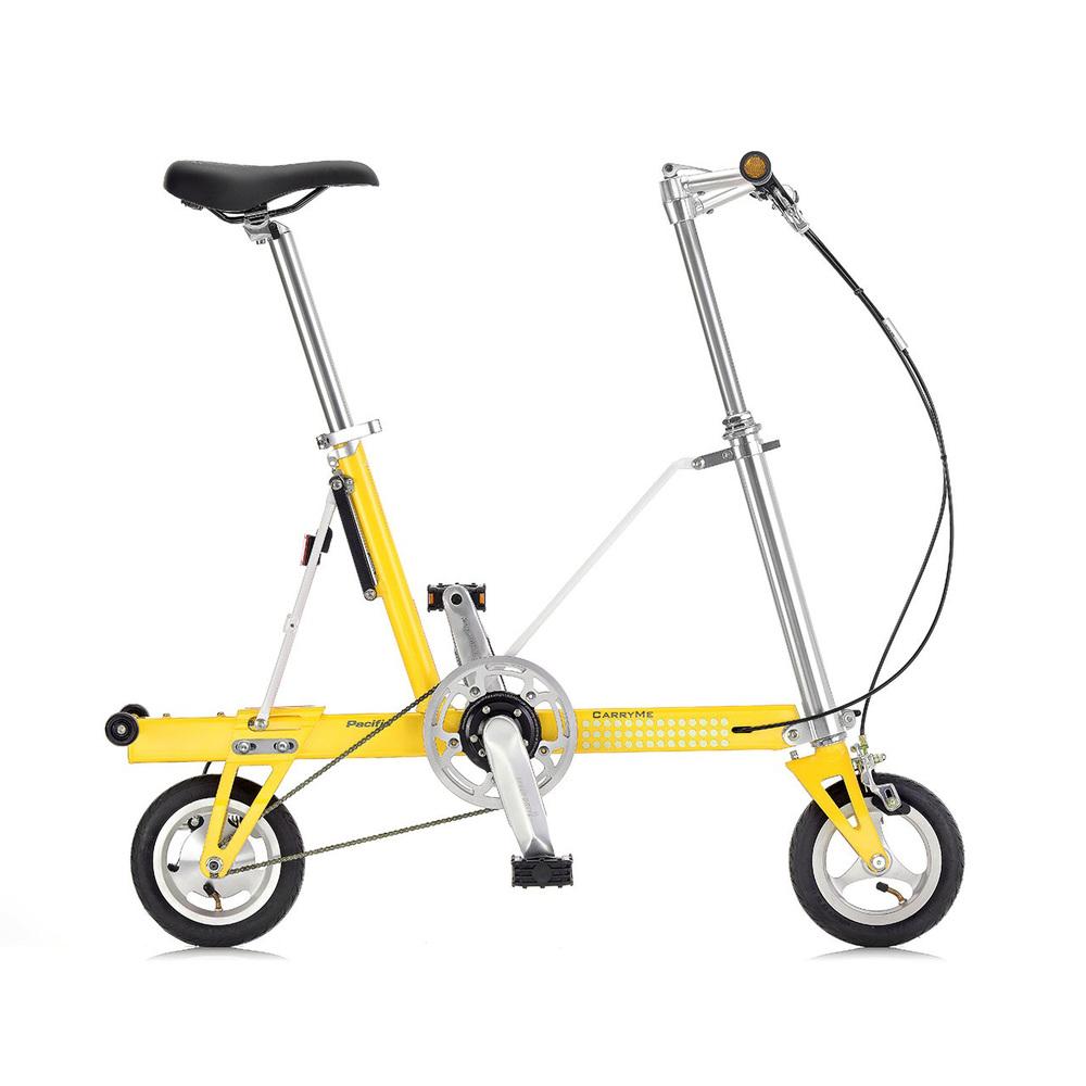 CarryMe|CarryMe SD 單速折疊車(檸檬黃)