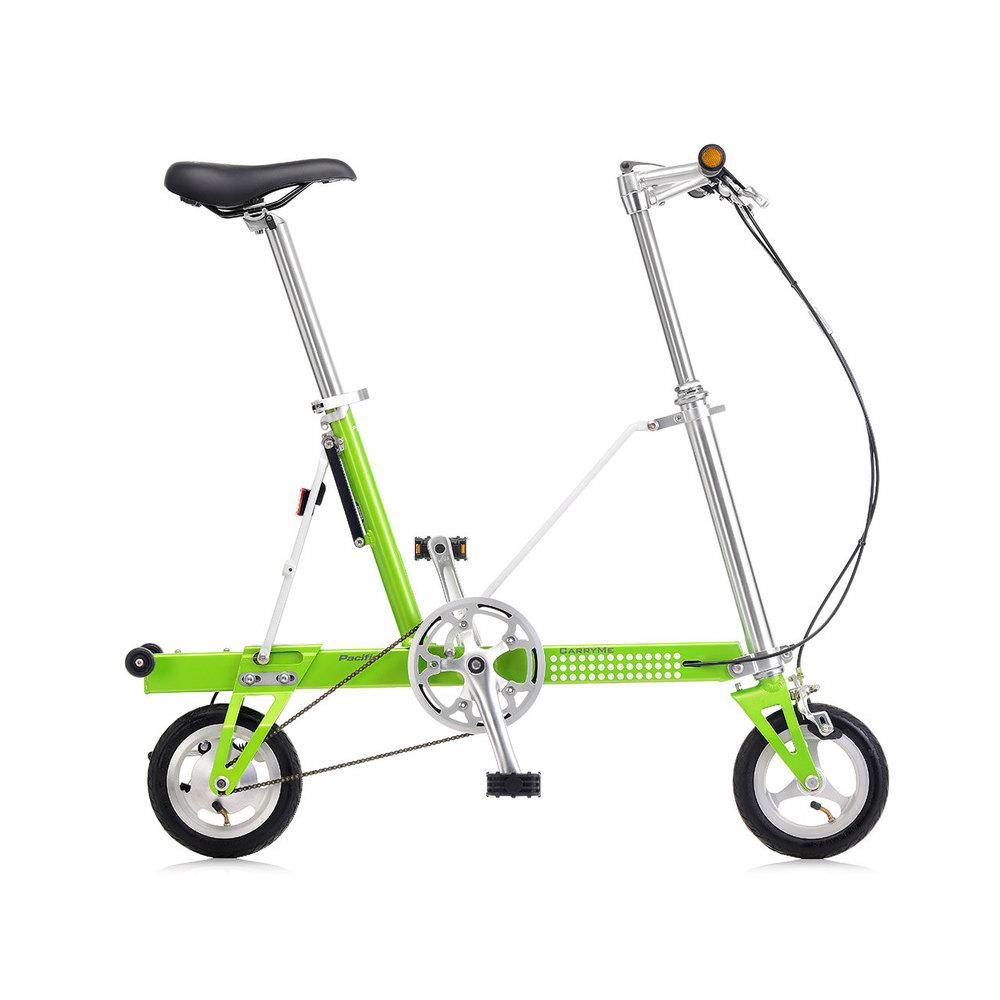 CarryMe|CarryMe SD 單速折疊車(綠色)