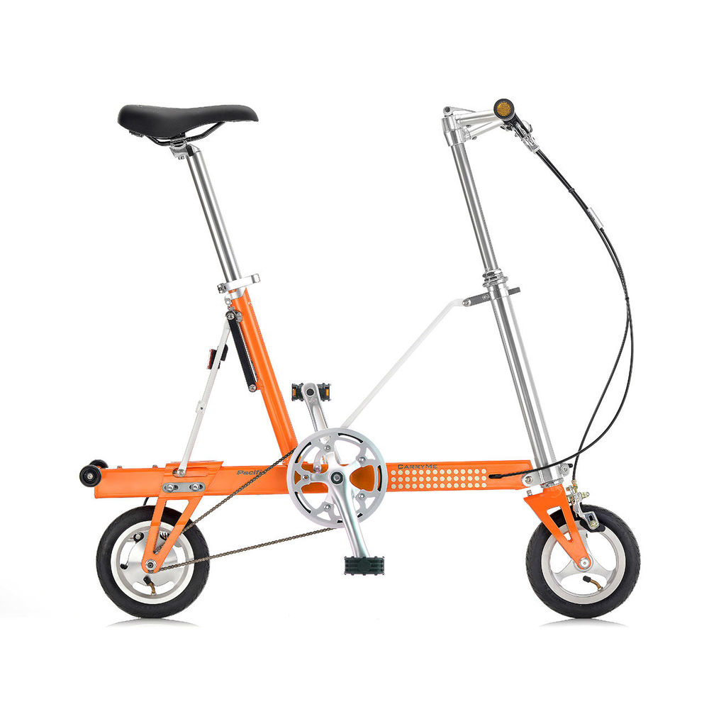 CarryMe|CarryMe SD 單速折疊車(橘色)