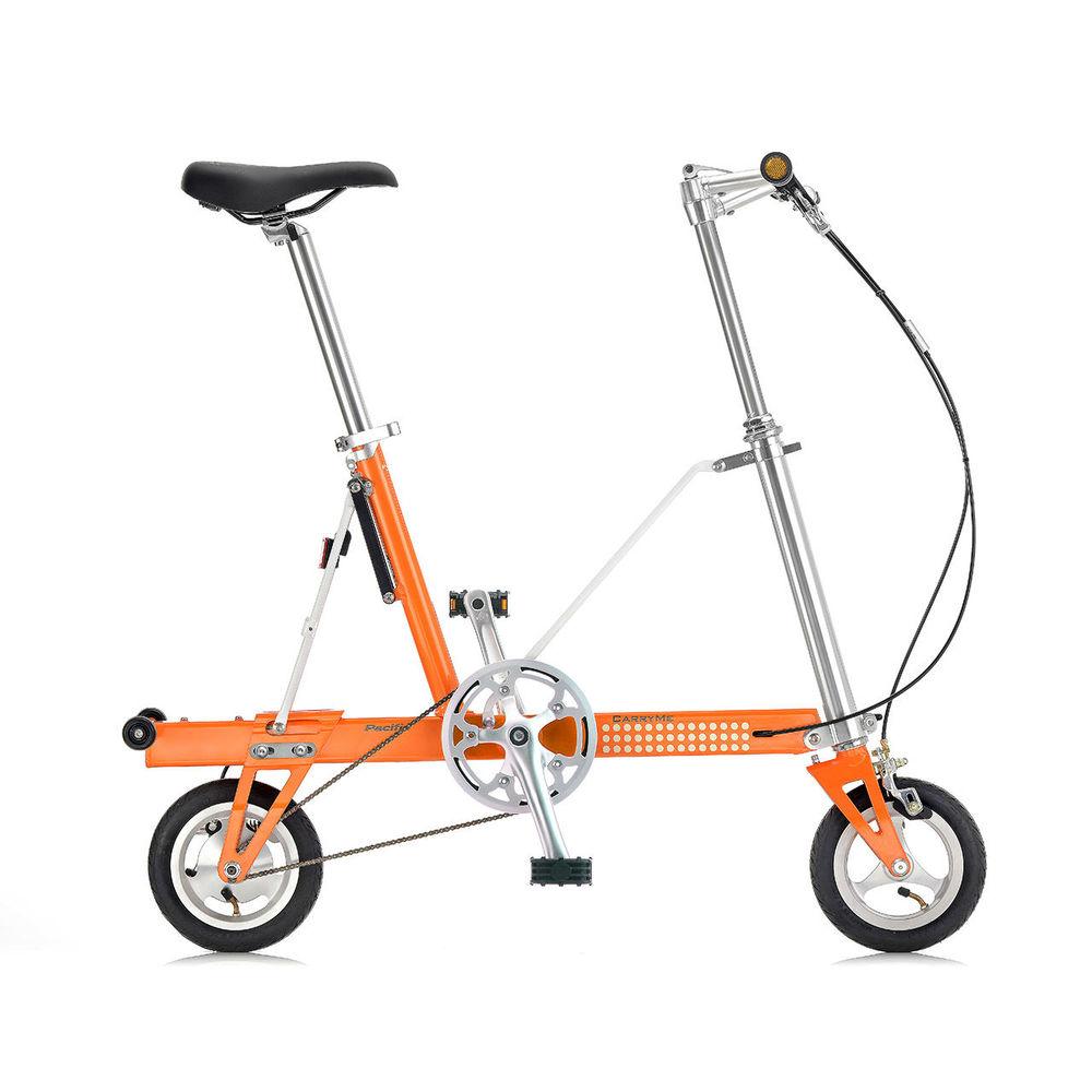 CarryMe|CarryMe SD 單速折疊車(鮮橙橘)