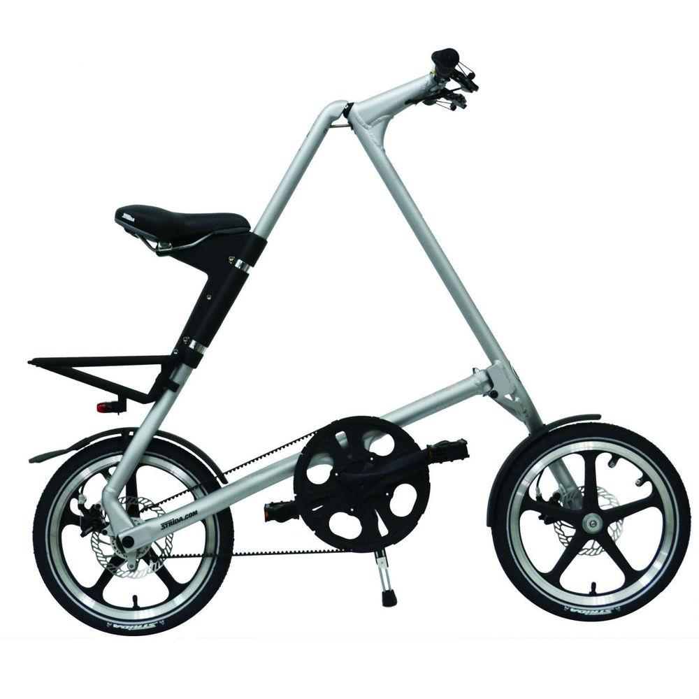 STRiDA|LT 折疊腳踏車(噴砂銀)