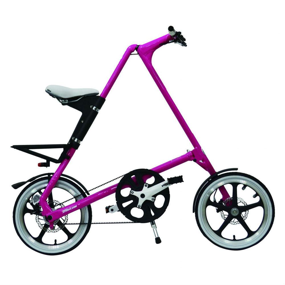 STRiDA|LT 折疊腳踏車(粉紅色)