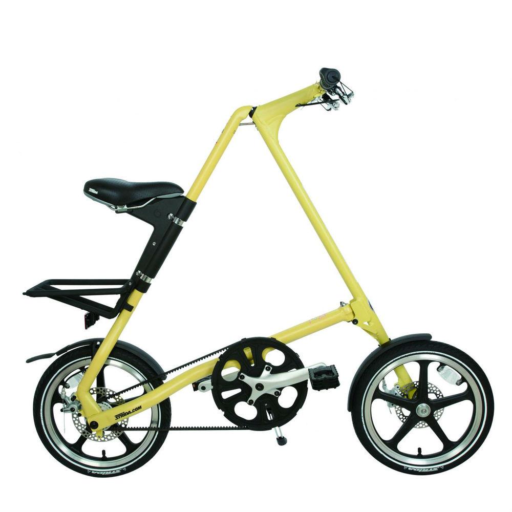 STRiDA|LT 折疊腳踏車(芥末黃)