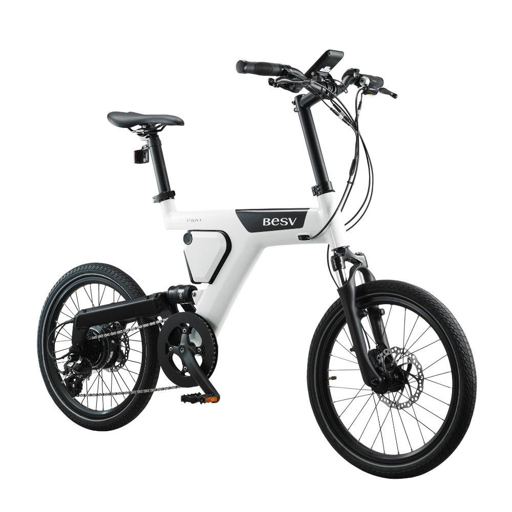 BESV|PSA1 SE 智慧動能自行車(白)