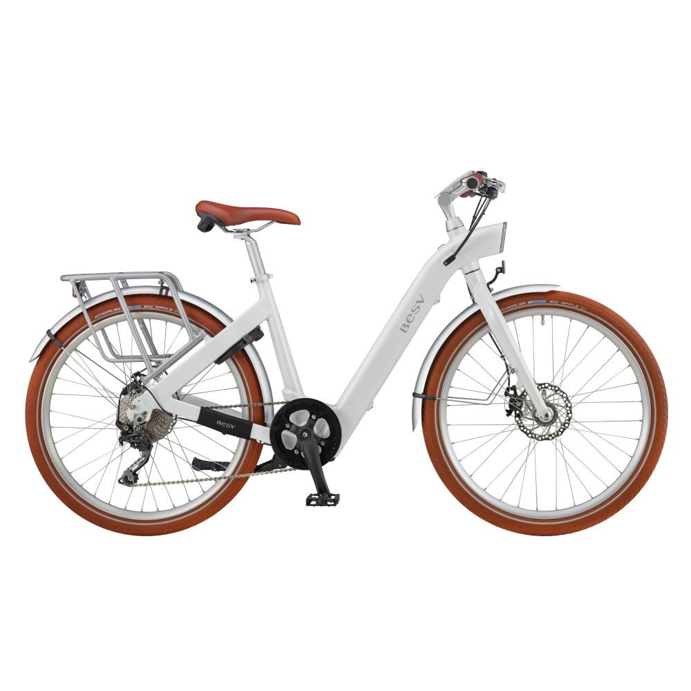 BESV CF1智慧動能自行車-28吋(白)
