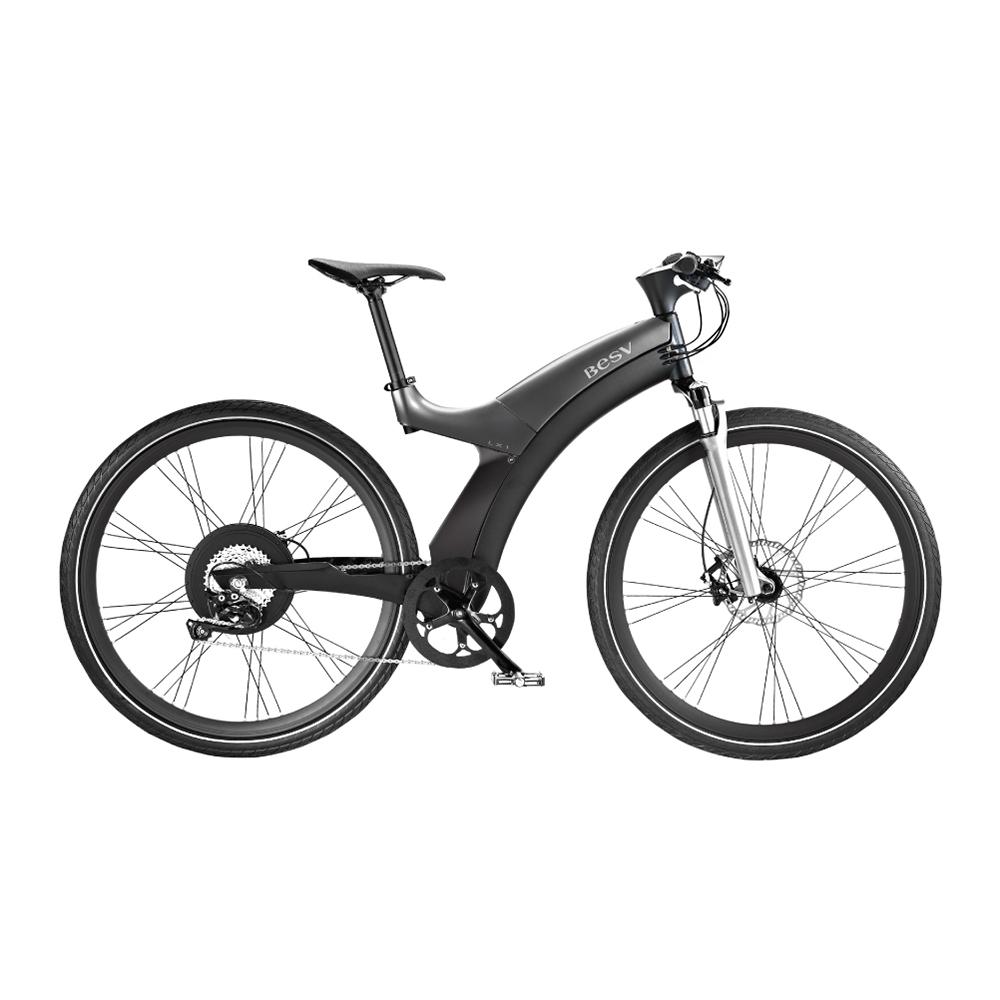 BESV|LX1智慧動能自行車(灰)