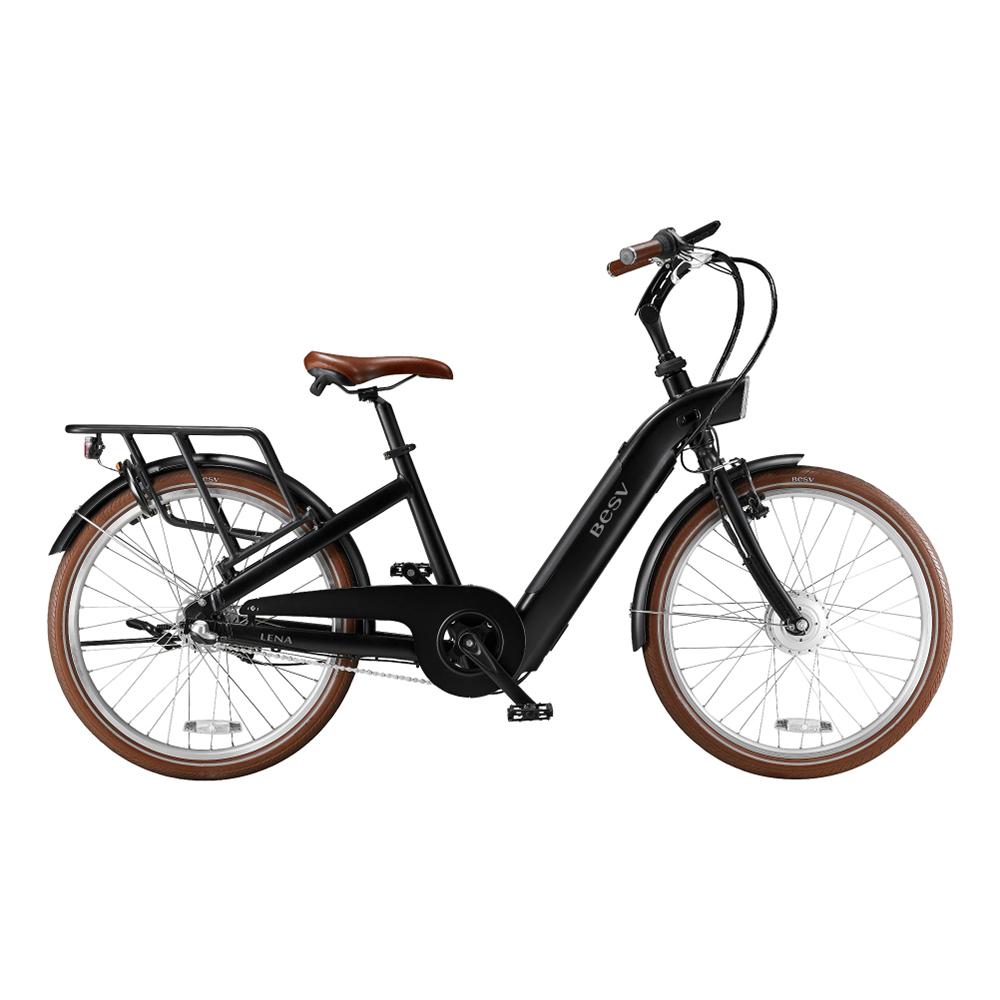 BESV|CF1 LENA 智慧動能自行車(消光黑)