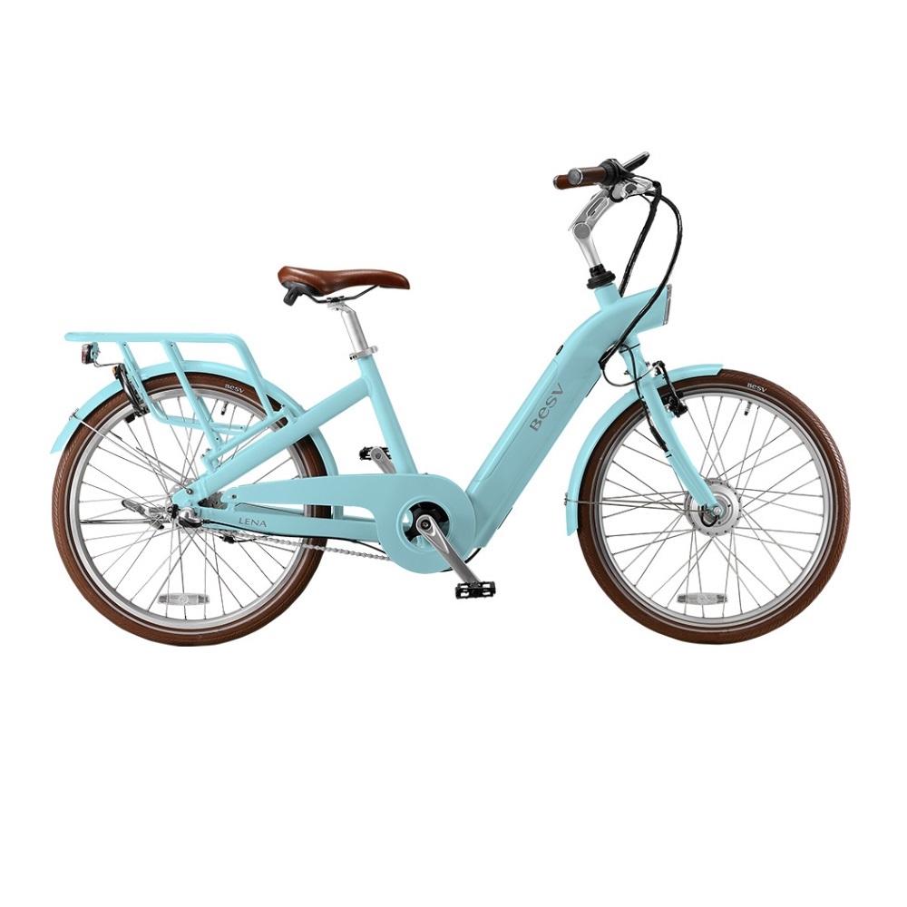 BESV|CF1 LENA 智慧動能自行車(土耳其藍)