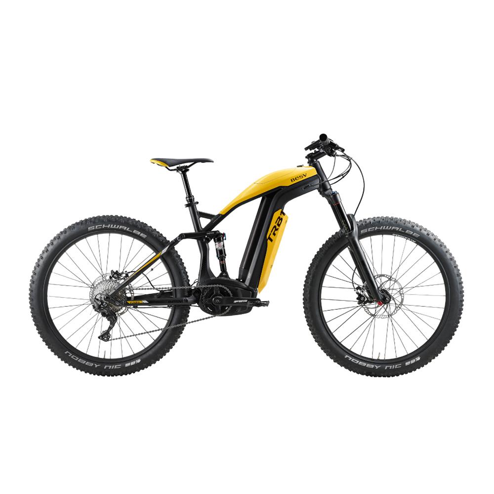 BESV|TRB1 智慧動能全地型登山車(黃)