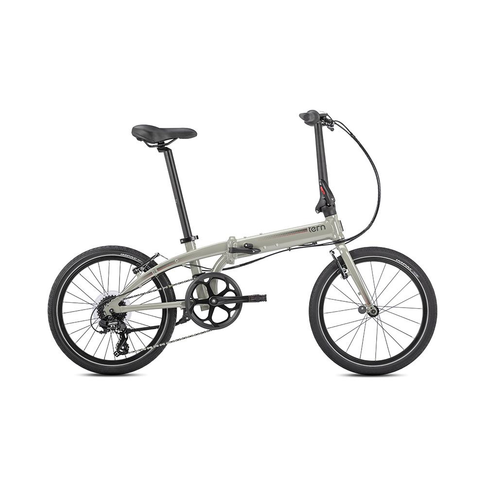 Tern Link C8 折疊自行車(亮光灰)