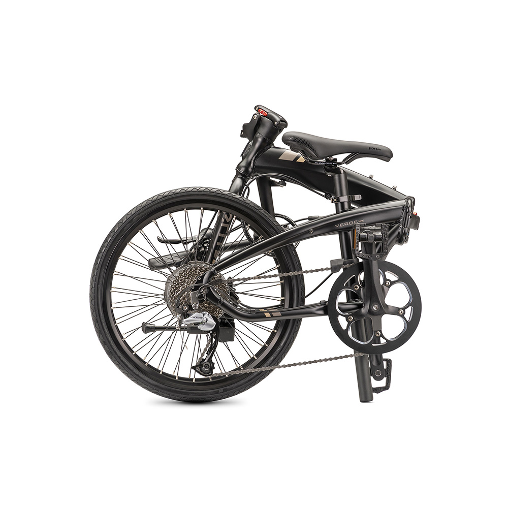 Tern|Verge D9 折疊自行車(緞光黑)