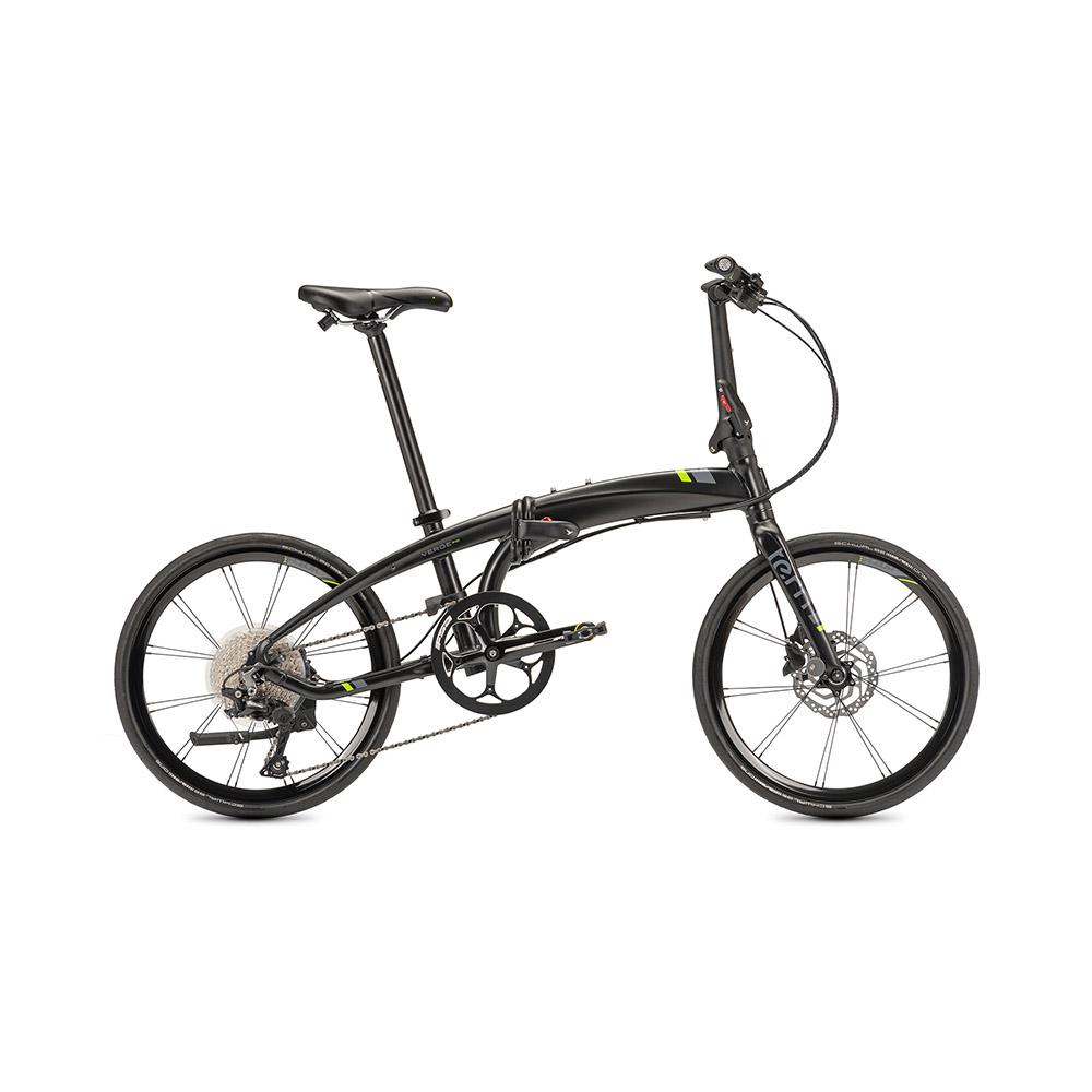 Tern Verge P10 折疊自行車(緞光黑螢光綠標)