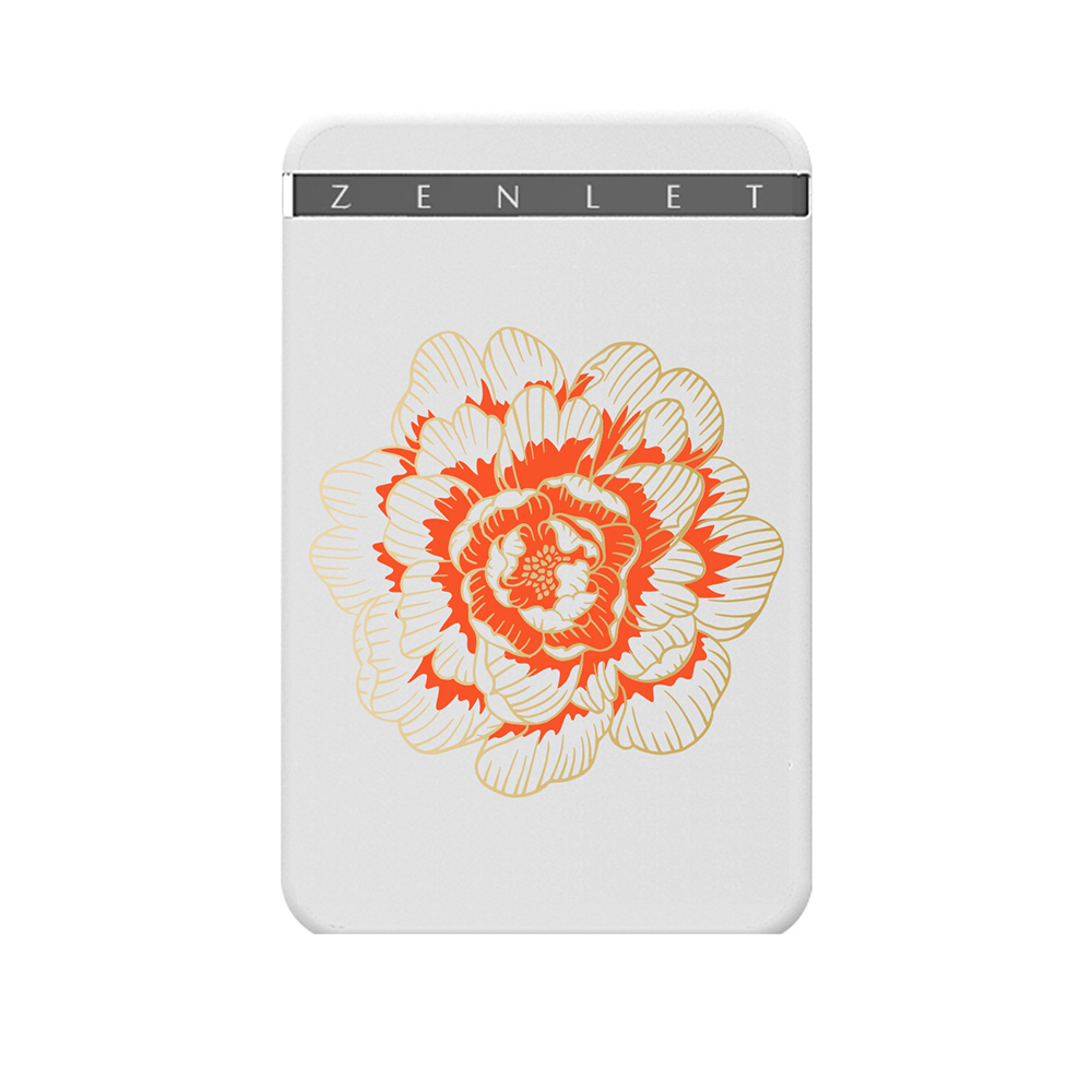 ZENLET|ZENLET 行動錢包《花繁。魚盛》(含RFID防盜卡)