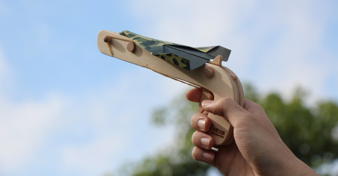 木匠兄妹|紙飛機發射器