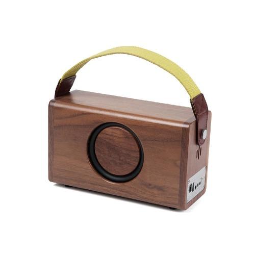 CELIA&PERAH|P3 II 無線高傳真實木音響-胡桃木原木色