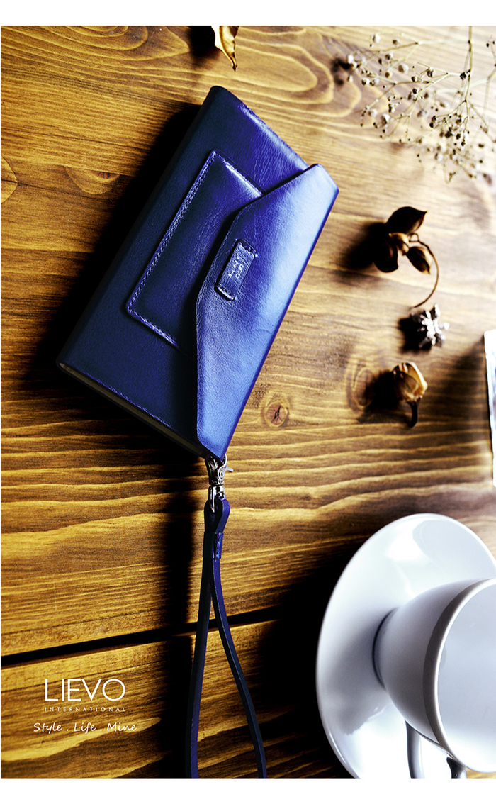 LIEVO|iPhone 7 Plus真皮掀蓋式手機套-STORY(霧墨灰)