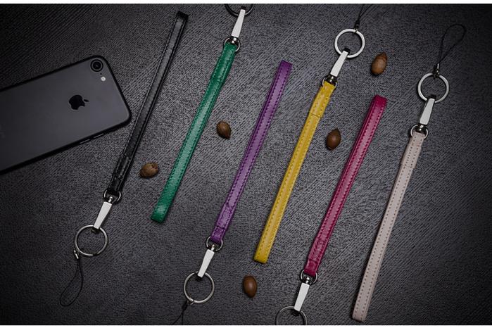 LIEVO │ 小羊皮頸繩(深紫紅)