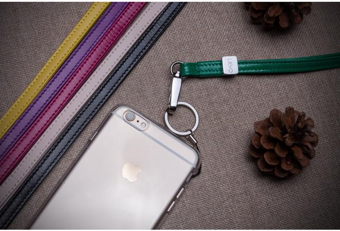 LIEVO │ 小羊皮手繩(深紫紅)
