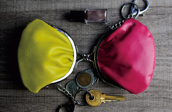 LIEVO|真皮零錢鑰匙口金包